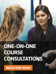 One-on-One course consultation