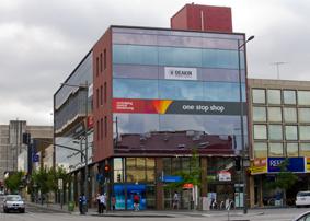Exterior photo of Dandenong Hub