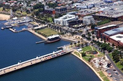 The Geelong waterfront