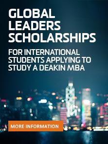 MBA (International) scholarships