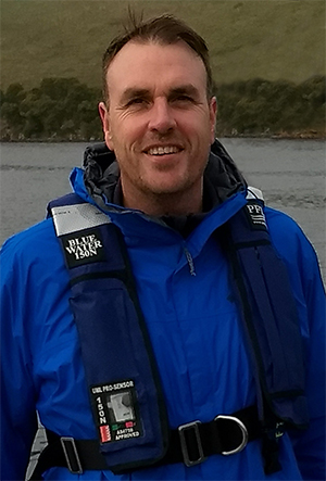 Dr Alex Rattray, Research Fellow with the School of Life and Environmental Sciences and Deakin Marine Mapping group