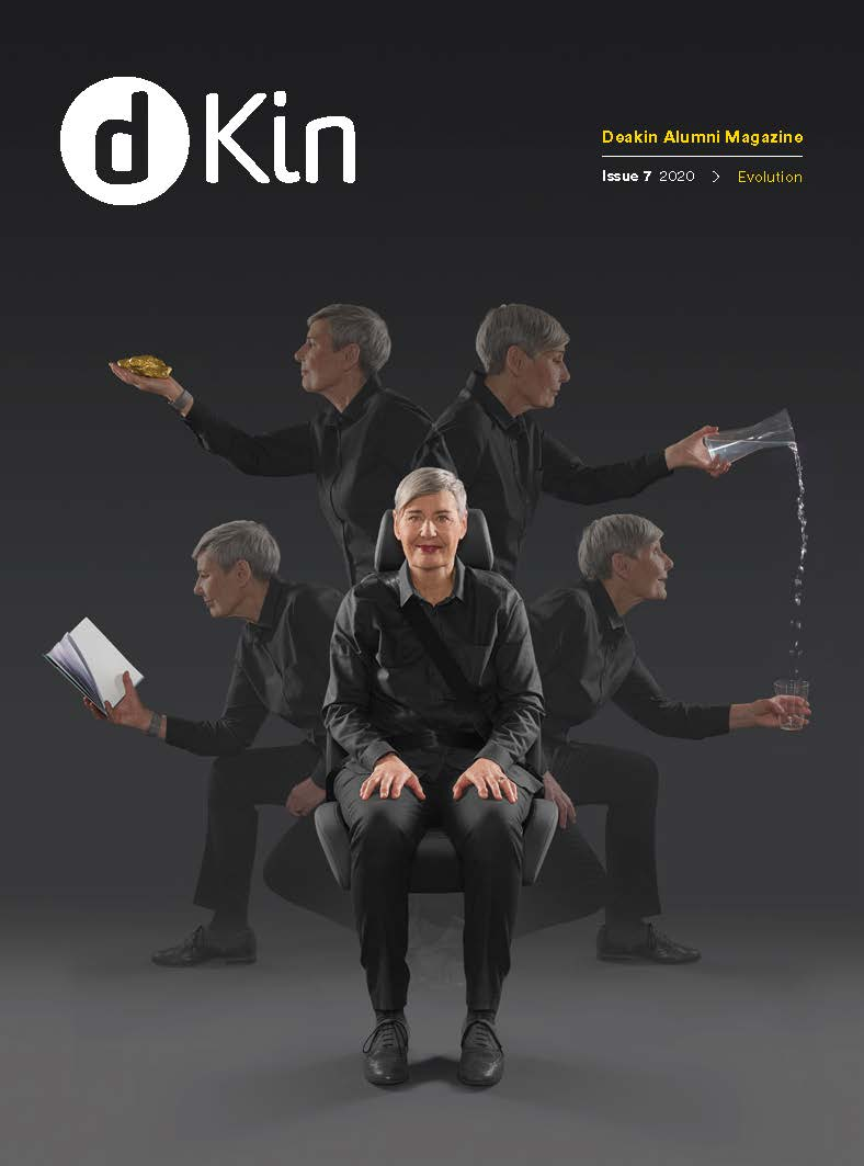 The cover of dKin Times, Issue 7 2020