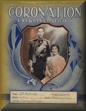 Coronation exercise book, 1937