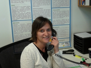 Helping the carers - Dr Leila Heckel.
